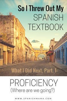 Teaching Spanish without a textbook: how one teacher threw out the textbook and moved toward a proficiency-based, comprehensible input-driven Spanish classroom.