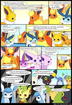 ES: Special Chapter 11 -Page by on DeviantArt Eevee Comic, Pokemon Eevee Evolutions, Pokemon Comics, Deviantart, Cute Pokemon, Wattpad, Squad, Humor, Store