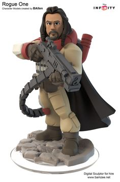 Rogue One Baze Malbus Disney Infinity Concept Art Discovered- Star Wars