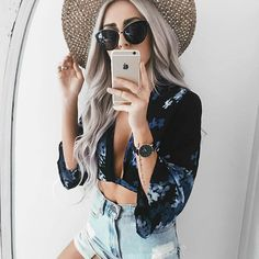 Stealing this look and @emilyrosehannon because this babe is just the cutest.   If you didn't hear, we are giving away a Coachella Ticket in our last post    Check it out and enjoy this Take Me to Turks Wrap Crop now available via link in bio!    #Regram via @shop12thtribe