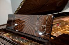 """Priced at $2.4 million, Steinway's 600,000th """"Fibonacci"""" piano made a stunning appearance at Masterpiece London, one of the most preeminent art shows in the world."""