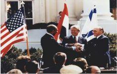 Sadat, Carter, Begin (L to R)