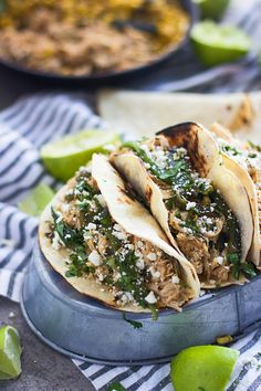 Slow-Cooker Poblano and Honey Lime Chicken Tacos 4