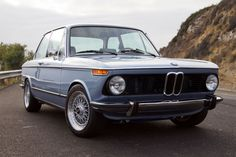 The 1974 BMW 2002 resto-mod wear European bumpers and sits on BBS wheels Mustang Wheels, Classic Car Restoration, Bmw Classic Cars, Bmw 2002, Car Makes, Bmw Cars, Sexy Cars, Alloy Wheel, Luxury Cars