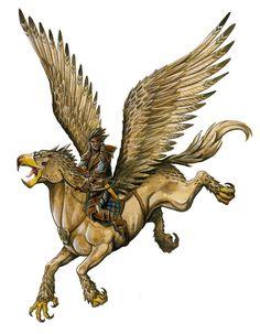 Hippogriff by FStitz.deviantart.com on @DeviantArt