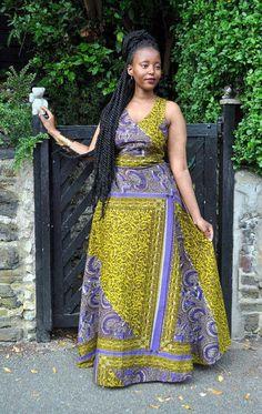 Ghana Fashion, African Fashion Ankara, African Print Dresses, African Print Fashion, Ethnic Fashion, Fashion Prints, African Attire, African Wear, African Fabric