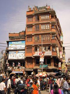 Chaotic architecture - Kathmandu Nepal