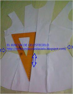 El Rincon De Celestecielo: Trasladar pinza de costado al hombro y eliminar parcialmente pinza vertical