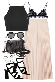 """""""Outfit for work in summer"""" by ferned on Polyvore featuring Joseph, Topshop, Isabel Marant, Dune, Rebecca Minkoff, Acne Studios and MANGO"""