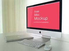 Free PSD iMac Mockup on Behance