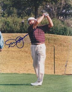Don January Autographed Golf 8x10 Photo 2 by Real Deal Memorabilia.  47.95.  1967 PGA f254959ef