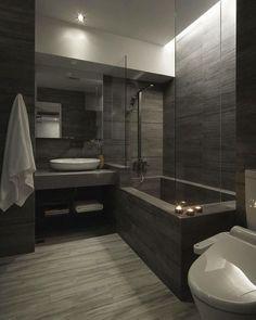 Modern Bathrooms Interior, Bathroom Design Luxury, Dream Bathrooms, Home Interior Design, Master Bathrooms, Master Baths, Beautiful Bathrooms, Bath Design, Master Master