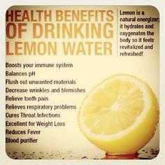 Hot Water + Lemon = Morning Ritual :) Follow me on Instagram @Ashley Walters Walters Walters Walters Walters Jorn #healthy #weightloss #detox #fitness
