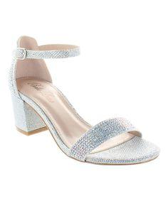Silver Glad Sandal
