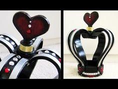 "Watch ""DIY Crown   Queen of Hearts"" on YouTube DIY Crown   Queen of Hearts: http://youtu.be/TBTikBoZ9is"