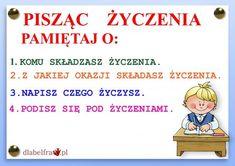 FORMY WYPOWIEDZI PISEMNEJ3 Learn Polish, Aa School, Polish Language, Gernal Knowledge, Girls World, Study Motivation, Einstein, Homeschool, Techno