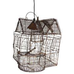 Bird Cage Pendant – Jumbled