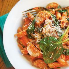 Penne with Chicken Sausage, Tomatoes