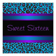 >>>Best          Purple Teal Leopard Sweet 16 Birthday Party Personalized Announcement           Purple Teal Leopard Sweet 16 Birthday Party Personalized Announcement Yes I can say you are on right site we just collected best shopping store that haveDiscount Deals          Purple Teal Leopa...Cleck Hot Deals >>> http://www.zazzle.com/purple_teal_leopard_sweet_16_birthday_party_invitation-161361321070465467?rf=238627982471231924&zbar=1&tc=terrest