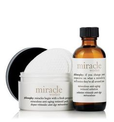 Miracle Worker Miraculous Antiaging Retinoid Pads 15 Ct Miraculous Antiaging Re… – Care – Skin care , beauty ideas and skin care tips Best Anti Aging Creams, Anti Aging Skin Care, Brand Review, Philosophy Products, Skin Care Cream, Skin Care Treatments, Face Treatment, Salicylic Acid, Ageing