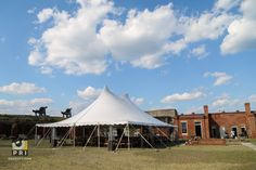 Tent dinner party at Fort Clinch Event Planning, Gazebo, Tent, Entertainment, Outdoor Structures, Cabin, How To Plan, Dinner, House Styles