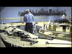 Large Private Model Railroad RR Lionel O Scale Gauge Train Layout of Ron Stevenson's awesome trains - YouTube