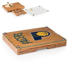 Indiana Pacers Concerto Cheese Board With Serving Stage And Tools   $79.99