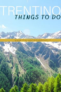 Things to do in Trentino Italy