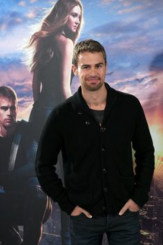 Theo James Sexy Stares Pictures | 14 Theo James Stares So Sexy, You Might Have to Look Away | POPSUGAR Celebrity Photo 9