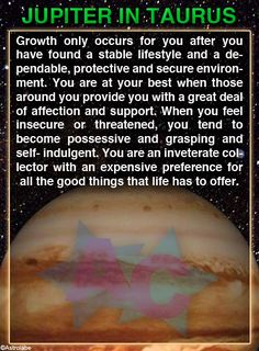 #Jupiter in #Taurus - Sign up here to see more: astroconnects.com #astrology #horoscope #zodiac #planets #planet #planetsinthesigns Scorpio Moon, Scorpio Zodiac, Astrology Zodiac, Astrology Signs, Gemini, Zodiac Signs, Aquarius, Zodiac Facts, Xmas