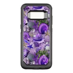 Fancy Purple Seashells OtterBox Commuter Samsung Galaxy S8 Case - fancy gifts cool gift ideas unique special diy customize