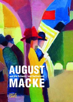 First of all, August Macke is regarded a master colorist, generating a colorful and cheerful world in his paintings and watercolors. Besides portraits, his oeuvre comprises landscapes, still lifes and nudes with recurring topics. He often depicts walkers under trees, in parks and in zoos, women in front of shop windows, boutiques and hat shops.