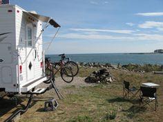 Boston Harbor Island State Park Camping