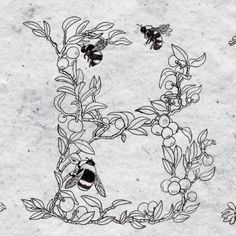 A work in progress typeface inspired from plants and animals found in Ugluholt (in short Holt) by Icelandic designer Stella Björg. via words & eggs