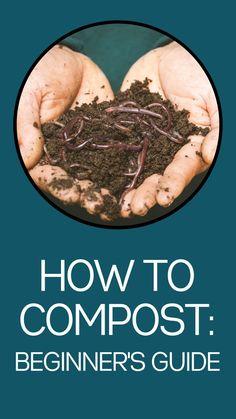 Garden Yard Ideas, Lawn And Garden, Garden Projects, Craft Projects, Compost Soil, Garden Compost, Composting At Home, Worm Composting, Growing Herbs