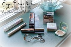 Eye Essentials ~  Eye Makeup Products We Can't Live Without www.kaikaibrai.com/blog  KaiKaiBrai  #eyemakeup #clinique #theyrerealmascara #beautyblogger