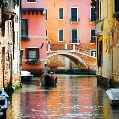 The beautiful colors of Venice!