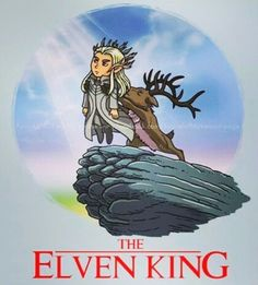 Awesome 'The+Elvenking' design on TeePublic! Thranduil Funny, The Exorcist, Movie T Shirts, Geek Out, Medieval Fantasy, Pulp Fiction, Fantasy World, Middle Earth, Narnia