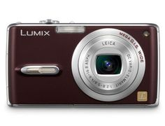 "Panasonic LUMIX DMC-FX07 3.6 Optical Zoom Digital Camera-Chocolate Brown by Panasonic. $299.95. Lumix  7.2 Megapixel Digital Camera with 3.6x Optical Zoom, MEGA Optical Image Stabilization and 2.5"" Diagonal LCD, Chocolate Brown"