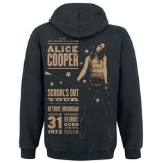 School's Out Tour - Hooded zip by Alice Cooper