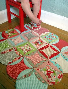 quilt as you go! tutorial - Love this!!