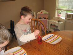 Owen Home: April Fool's Dinner