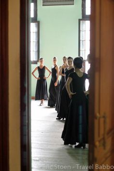 I loved photographing this ballet practice in Havana, Cuba at the Lizt Alfonso Dance Company.  #cuba #ballet