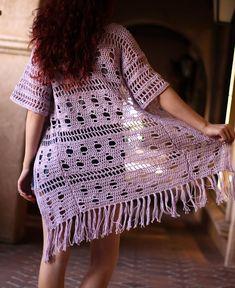 Free Crochet Pattern : The Pereskia Kimono