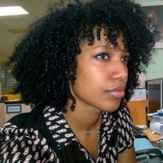 Bianca // Natural Hair Style Icon | Black Girl with Long Hair