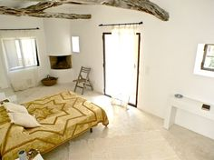 One of the light and spacious bedrooms at Finca San Augustin Ibiza - HIP Holidays