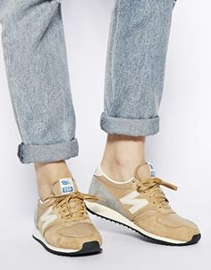 New Balance Camel Sneakers.