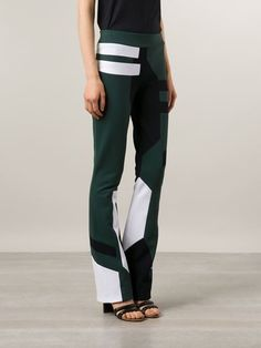 Anne Sofie Madsen Panelled Wide Leg Trousers - Atelier Ny - Farfetch.com