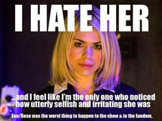 Doctor Who: The Ten Worst Companions | Warped Factor - Words in the Key of Geek.