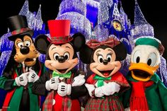 Merry Christmas from the Disney Parks